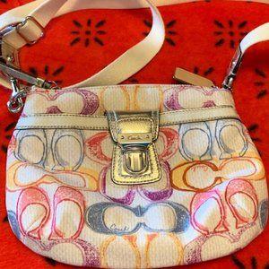 Coach Poppy Nylon Crossbody Handbag